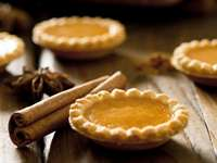 Gluten Free Pumpkin Pie Tartlets