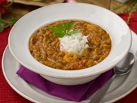 "Chicken and Sausage Gumbo from the ""Big Easy"""