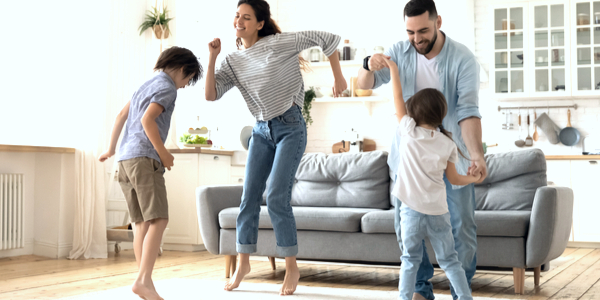 6 Fun Ways to Exercise with the Whole Family
