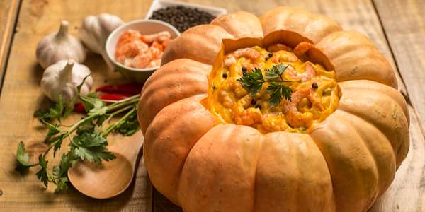 Pumpkin Curry with Shrimp Recipe