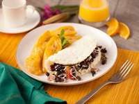Recipe: Black Bean Omelet