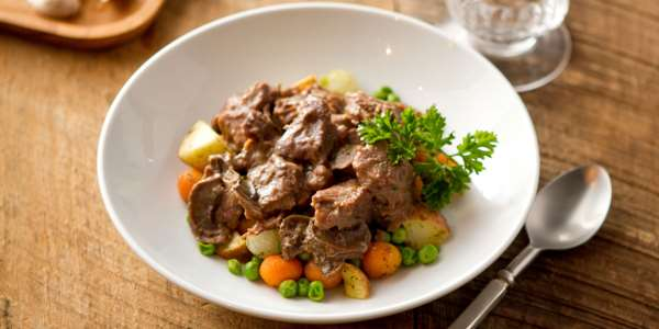 Recipe: Beef Tips in Red Wine Sauce