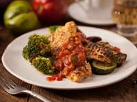 Recipe: Baked Tilapia with Tomato Caper Sauce