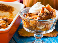 Gluten-Free Pumpkin Bread Pudding Recipe