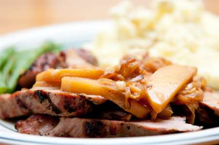 Recipe: Pork Tenderloin with Apple Cider Reduction