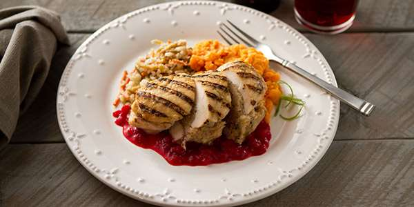 Recipe: Cranberry Apple Stuffed Chicken Breast