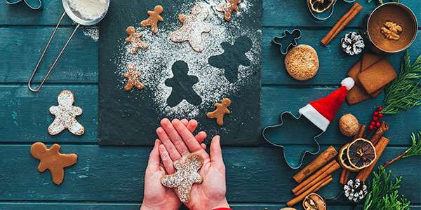 Healthy Holiday Gingerbread Cookie Recipe