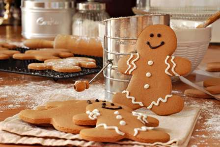 Recipe: Healthy Holiday Gingerbread Cookies