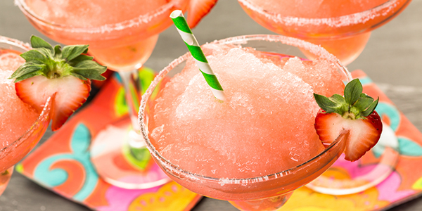 Guilt-Free Frozen Strawberry Margarita Recipe