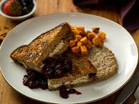 Stuffed French Toast with Berry Compote Recipe
