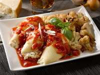 Stuffed Shells with Vodka Marinara Sauce