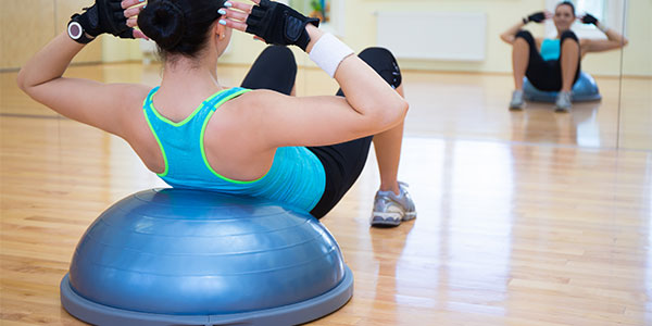 The Ultimate BOSU Total Body Blast Workout