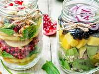 15 Delicious & Healthy Mason Jar Salad Recipes