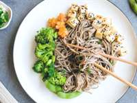 Sesame Soba Noodles with Edamame