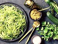 Zucchini Noodles with Pesto Recipe