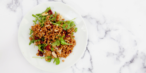 Cranberry and Feta Farro Salad Recipe