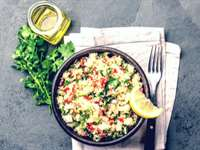 Fresh Tabbouleh Salad with Quinoa
