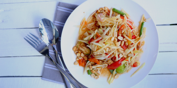 Thai Green Papaya Salad Recipe