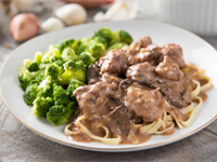 One-Pan Beef Stroganoff Recipe