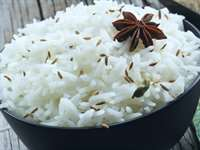 Quick Cumin Basmati Rice Recipe