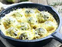 Cheesy Brussels Sprout Bake Recipe