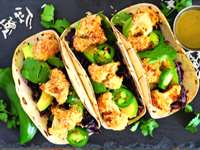 Quick Vegetarian Cauliflower Taco Recipe